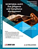 SECRETARIAL AUDIT COMPLIANCE MANAGEMENT AND DUE DILIGENCE CS PROFESSIONAL OLD SYLLABUS LATEST EDITION CS ANOOP JAIN DECEMBER FOR 2019