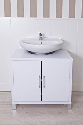 Intradisa 8915 - Mueble de baño con 2 puertas blanco