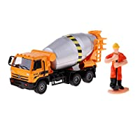 Dailymall 1/50 Scale Diecast Alloy Wheel Loader/Excavator Digger Toy Vehicle Car Truck