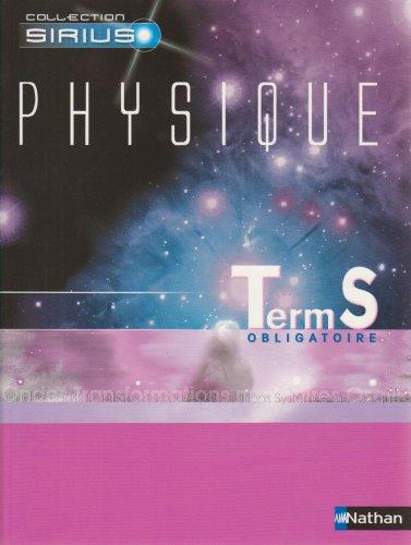 Physique Tle S Obligatoire