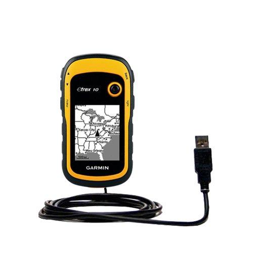 Classico Cavo USB Dritto compatibile con Garmin etrex 10 20 30 con Power Hot Sync e Capacità di Caricamento Adotta la Tecnologia TipExchange
