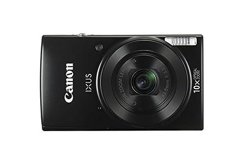 Canon IXUS 190 BK Appareil photo numérique 20.0 Mpix Zoom optique 10 x Noir