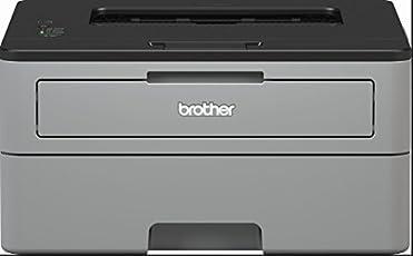 Brother HL-L2310D Kompakter S/W-Laserdrucker (A4, Echte 1.200x1.200 DPI, Duplexdruck, Geschlossene 250 Blatt Papierkassette, USB 2.0)