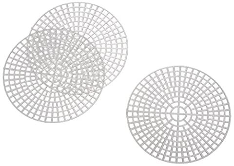 Darice Plastic Canvas Round, Clear, 3-Inch, Pack of 10