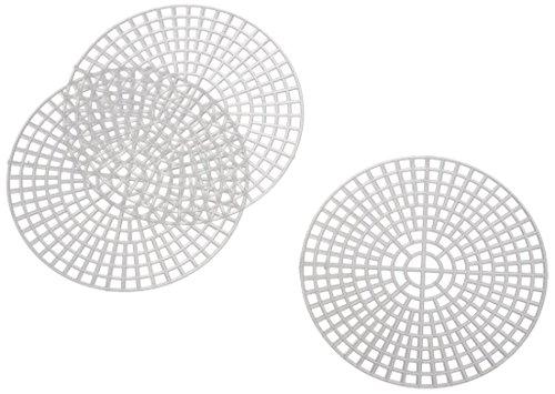Darice Canvas, rund, 10 stück, Plastic, transparent, 7.62 x 7.62 x 0.03 cm, Einheiten Mesh 10