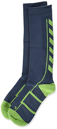Hummel Sport Knee Length Unisex Socks Antibacterial for Sport and Fitness–Tights with Padding in Various Colors–Tech Indoor Socks Long Mesh Ventilation, Children's, Socken