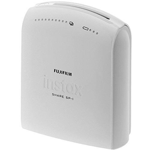 Fujifilm Instax Share SP-1 EX D - Impresora fotográfica inalámbrica para Smartphones (compatible con IOS y Android), color blanco