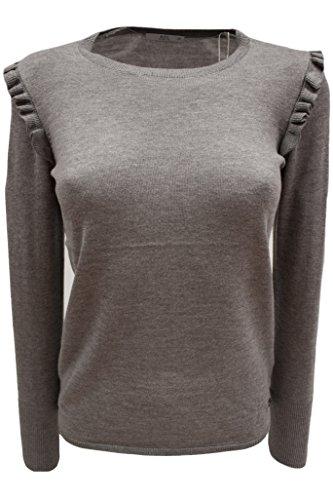 edc by ESPRIT Damen Pullover grau (medium grey 035)