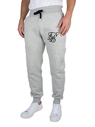 Sik Silk Standard Jogger, Pantaloni Uomo Grigio