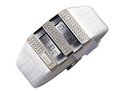 Esprit Damen-Armbanduhr Analog Quarz Leder ES100692002