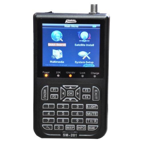 SUMMIT SM 201SE Messgerät für DVB-S mit 3, 5