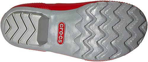 Crocs Women High W Rain Boots Rosso