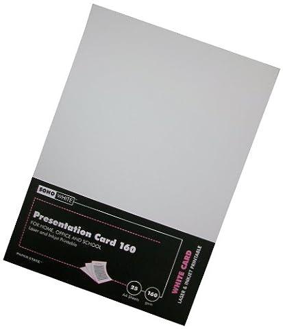 Paper State Soho Ramette de 25 cartes de présentation 160g/m²