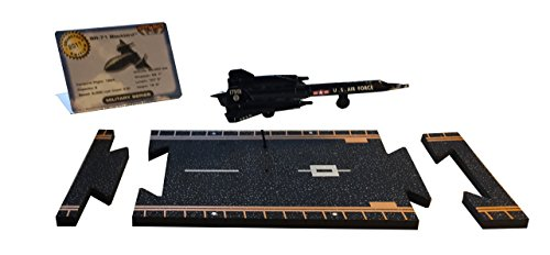 Dam - Hot Wings - Circuit d'avions : Avion militaire - SR-71 Blackbird