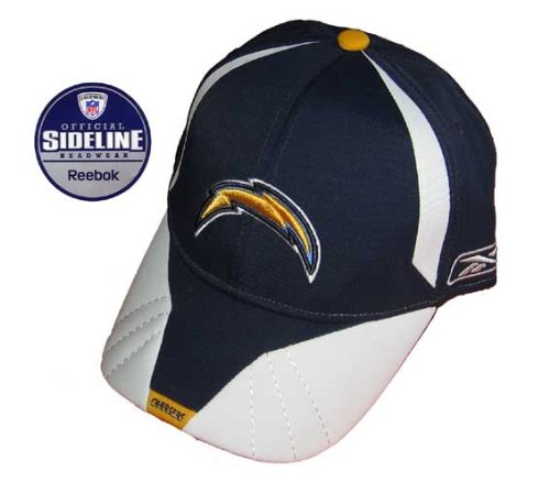 reebok-san-diego-chargers-2008-official-sideline-nfl-cap