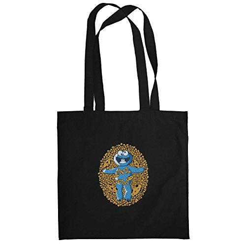 Texlab–American Cookie–sacchetto di stoffa Nero