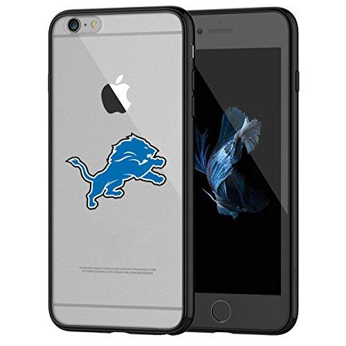 6s iPhone 6S Hart Schutzhülle, Stoßdämpfung TPU + Translucent gefrostet kratzfestem Backplate Back Cover für iPhone 6/6S-Schwarz, iPhone 6s case18 ()