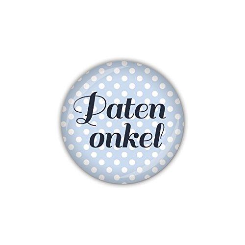 lijelove Button 25mm Ø ANKER gepunktet, Patenonkel (Art. BU953)