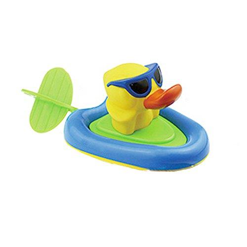 LAHAUTE Wasserspiel Dusche Badespielzeug hochwertiges Kleinkindspielzeug Ente