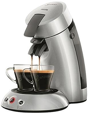 Philips Senseo Original HD6556/51 coffee maker Freestanding Pod coffee machine Silver 0.7 L Semi-auto - Senseo Original HD6556/51, Freestanding, Pod coffee machine, 0.7 L, Coffee pod, 1450 W, Silver