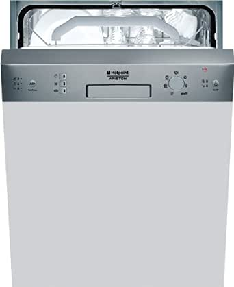 Hotpoint LFZ 2274 A IX/HA Semi intégré 14places A lave-vaisselle - Lave-vaisselles (Semi intégré, Acier inoxydable, boutons, 14 places, 47 dB, A)