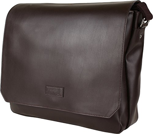 The Bridge Cloud Uomo Messengerbag 86 Schwarz