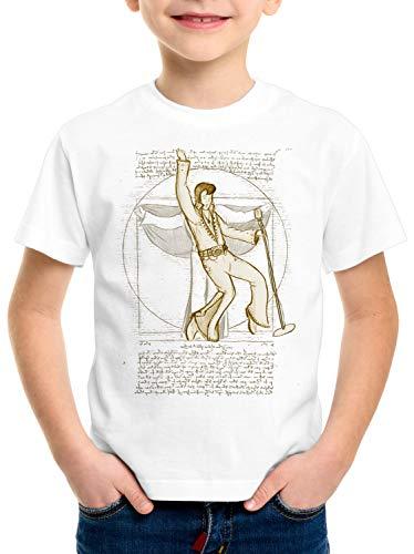 CottonCloud Vitruvianischer King of Rock T-Shirt für Kinder da Vinci Memphis
