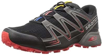 Salomon Men's Speedcross Vario Trail Running Shoes, (Black