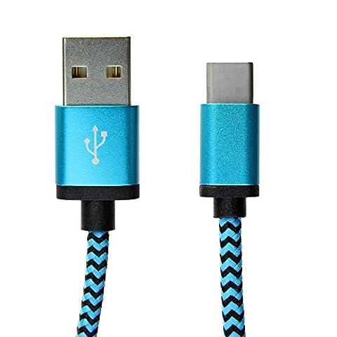 [i-rex] 2m Premium USB-C Typ C 3.1 Ladekabel | Datenkabel