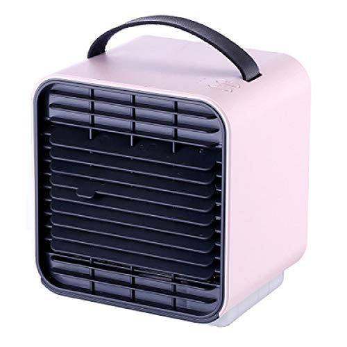 2019 Creative Summer New Negative Ion Air Conditioning Fan Three-Speed Wind Regulation 2000Mah Battery Air Cooler Pink 120 * 127 * 132Mm