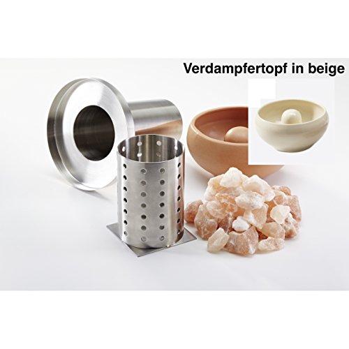 Preisvergleich Produktbild Infraworld Salzverdampfer Sole Aqua Premium Verdampfertopf beige B6622-2