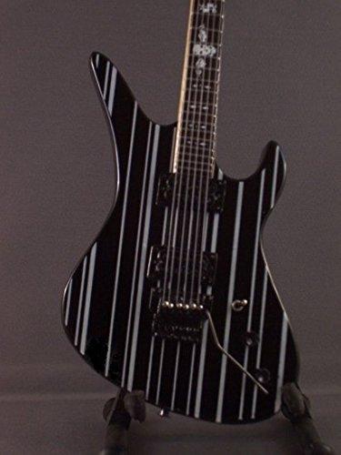 Mini Schwarz Gitarre AVENGED SEVENFOLD SYNYSTER GATES Anzeige GESCHENK - Gitarre Synyster Gates