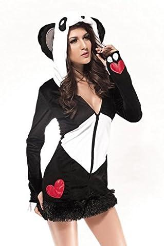 La vogue Set Panda Kostüm Cosplay Uniform