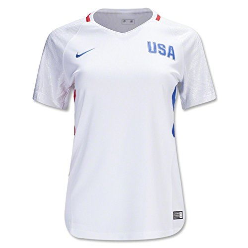 Nike 2016 Womens USA Olympic Home Jersey Large (White/Red/Royal) -