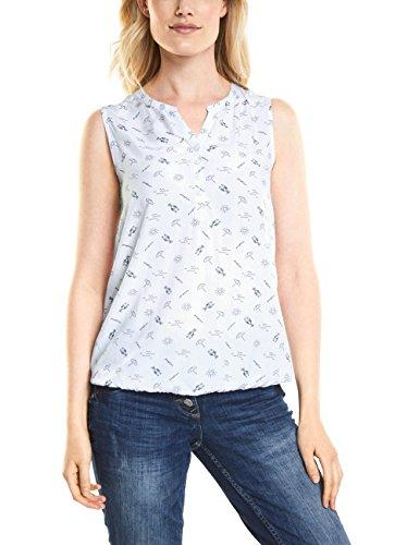 Cecil Damen Bluse 340890, Weiß (White 20000), XX-Large