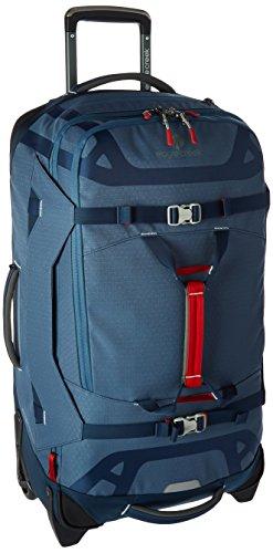 Eagle Creek Rollkoffer Gear Warrior™ 29 Reisetasche Trolley mit leichtem Aluminium Griffsystem, 76 L, smoky Blau (Gear Duffle)