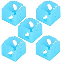 hong 5 Piezas de Cubierta Protectora Calentador Bloque de Aluminio Impresora 3D Piezas XCR-NV6 Calcetín para Bloque calentado