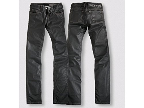 Rokker Jeans The Black Diva schwarz-denim, 30-32