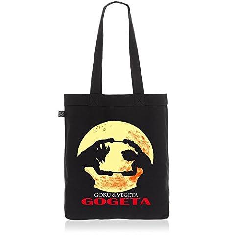 style3 Gogeta Biobaumwolle Beutel Jutebeutel Tasche Tote Bag Goku Vegeta