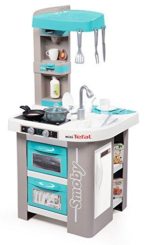 Smoby 311023 Tefal Studio Bubble Köche Küche Tv