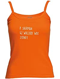 Brand88 - P Sherman 42 Wallaby Way Sydney, Lady-Fit Strap Tee