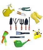 #4: Truphe Garden Tools Box (14 in 1 Garden tool box combo Pack)