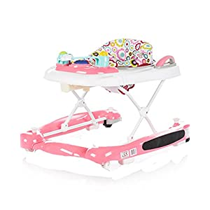 Chipolino 3 in 1 Baby Walker, Pink, Lilly Cosatto Includes: Chassis,Carrycot,Seat unit,Dock isize Car seat,Car seat adapters,Footmuff,Change bag, Raincover & 4 Year guarantee(UK and Ireland only) Compact fold Telescopic, leatherette handle and Handy one-handed recline. One-hand release carrycot, One-hand adjustable leg rest and Super-sized basket with handy compartments 10