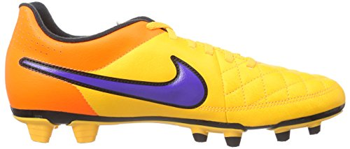 Nike Tiempo Rio II FG Herren Fußballschuhe Orange (Laser Orange/Persian Volt-Total Orange-Volt)