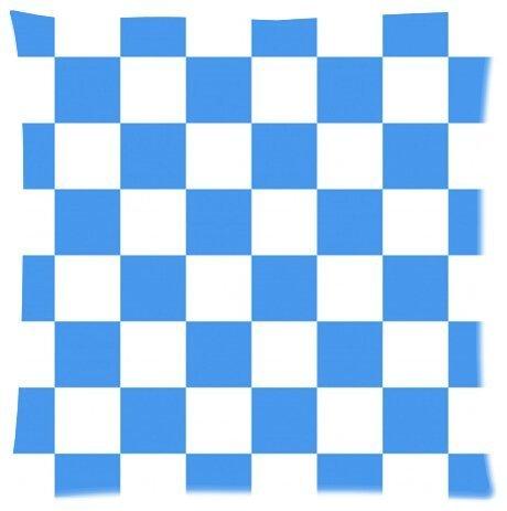 Checkerboard Lattice Design Microfiber Pillowcase Cover - Standard Size 18x18 inch (one side)