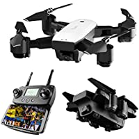 FAITHPRO SMRC S20 Quadcopter Drone With HD 720P WIFI FPV Wide Angle Camera RC Helicopter Real-Time Camera Drone Gifts for Children for Beginner(White) - Compare prices on radiocontrollers.eu