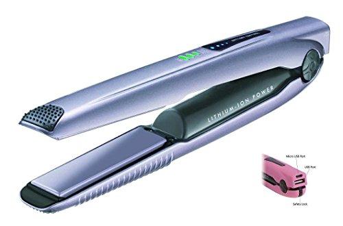 Portátil inalámbrico batería y Wireless alisador de cabello Titanum