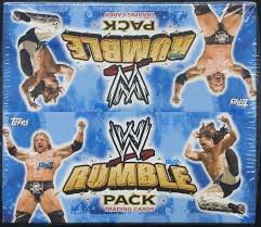 Topps 2010 WWE Rumble Packs Retail Trading Cards - Wwe-ausrüstung