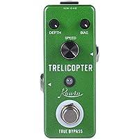 Rowin Analoges Trelicopter Gitarreneffektpedal mit Photoelektrischen Tremolo-Effekten