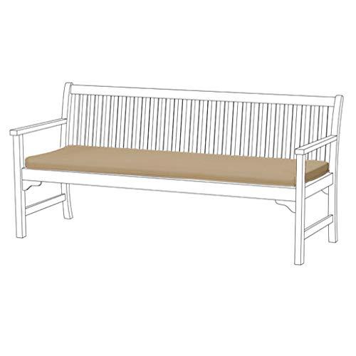 Gardenista wasserabweisend 4er Garden Bench Pad Stone (Keine Bench im lieferumfang enthalten) - Stoff Outdoor Bench